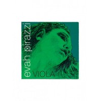 EVAH PIRAZZI BALL SILVERY STEEL MEDIUM VIOLIN -E- NO.313221