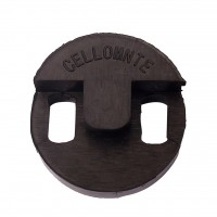 CELLO - RUBBER ROUND MUTE - VC ACCS 018